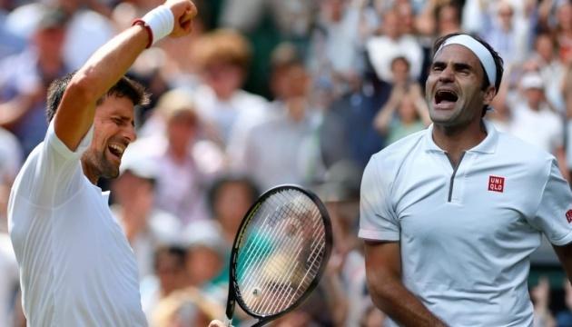 Джокович переміг Федерера у фіналі Вімблдона-2019
