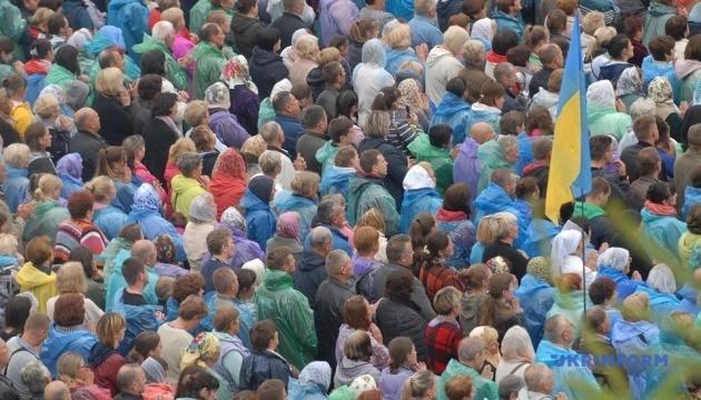 На прощу до Зарваниці приїхали 80 тисяч паломників