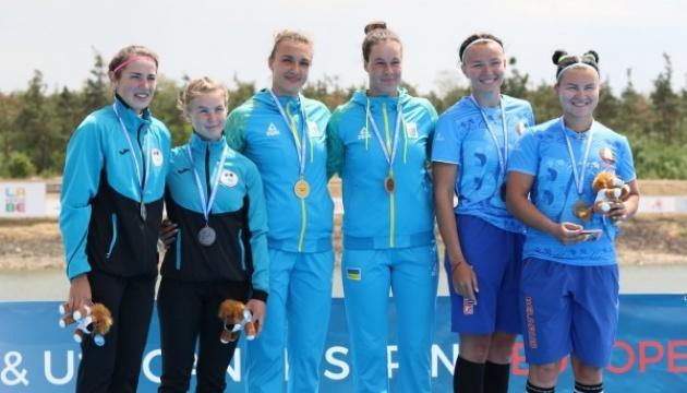 Украинские гребцы завоевали 13 медалей на Евро-2019 среди молодежи и юниоров