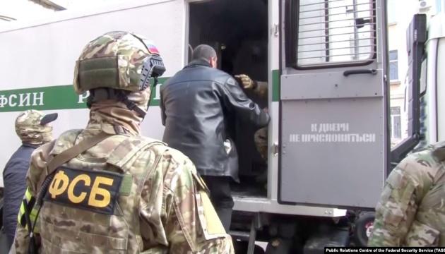 ФСБ России заявляет, что задержала на админгранице с Крымом двух украинцев