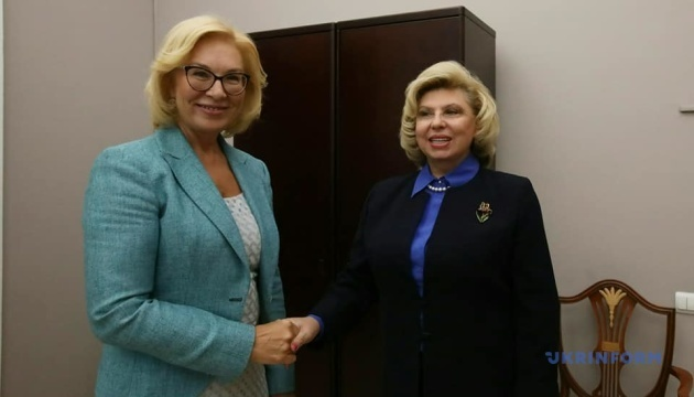 Denisova, Moskalkova discuss medical assistance to Ukrainian political prisoners
