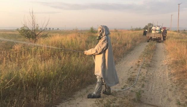 На Луганщині борються з нашестям сарани