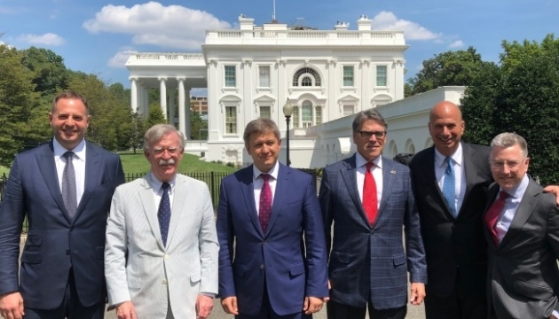 Sekretär des Nationalen Sicherheitsrates zu Besuch in den USA