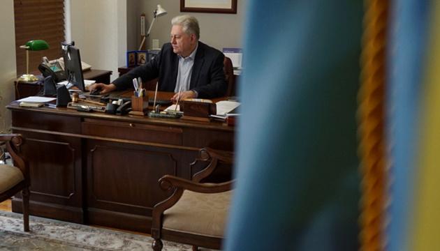 Зеленський зустрівся з новим послом України у США