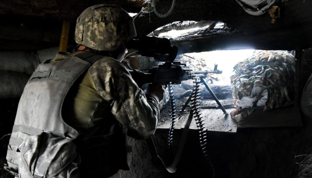 Russian-led forces launch 13 attacks on Ukrainian troops in Donbas