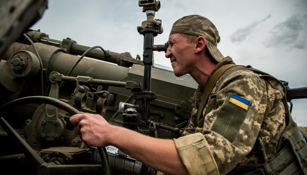Russian-led forces launch 18 attacks on Ukrainian troops in Donbas