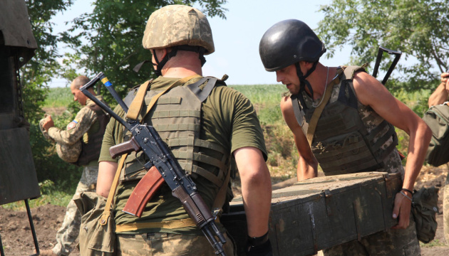 Russian-led forces launch 14 attacks on Ukrainian troops in Donbas