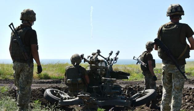 Donbass : Les forces russes ont violé le cessez-le-feu à 7 reprises, un soldat ukrainien blessé