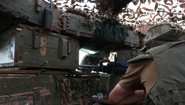 Russian-led forces violate ceasefire in Donbas six times over past day