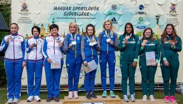 Українські стрільці здобули 15 нагород на чемпіонаті Європи в Угорщині