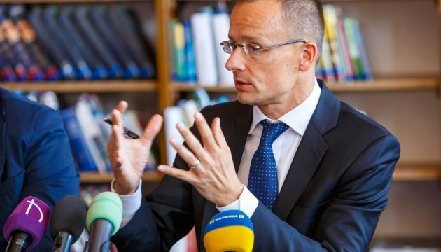 Szijjarto denies meddling in Ukraine's elections