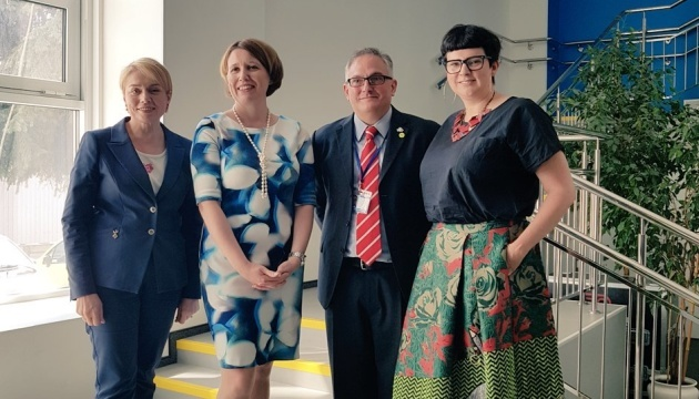 British ambassador, Ukrainian education minister open new British Council office