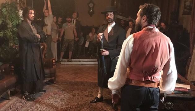 Гройсман побывал на съемках фильма о Шевченко