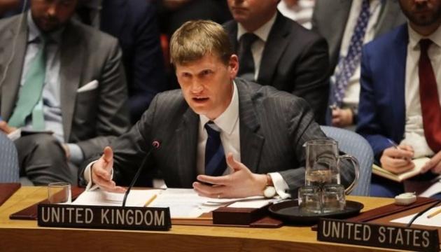 Британія закликає Росію розповісти на Радбезі ООН про свої війська на Донбасі