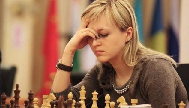 Ушеніна стала п'ятою на міжнародному турнірі з шахів у Китаї