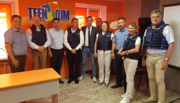 Представители GIZ посетили Донетчину и обсудили перспективы децентрализации