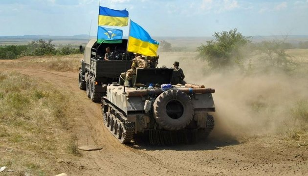 Russian-led forces violated ceasefire in Donbas eight times over past day