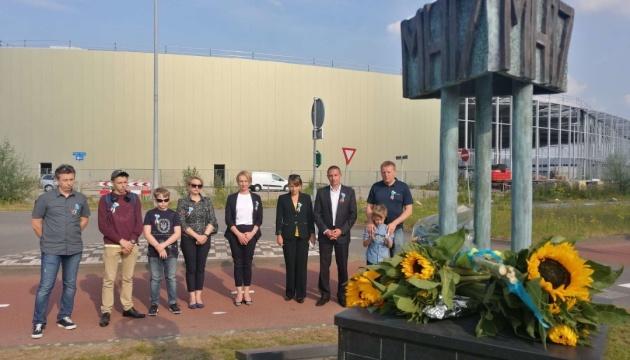 У Нідерландах українці вшанували загиблих у трагедії МН17