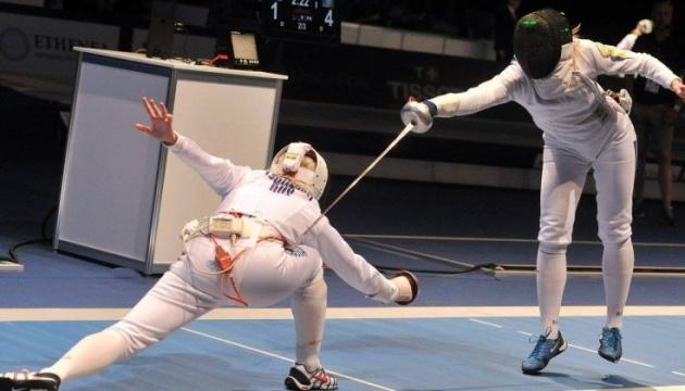 Українські шпажистки стали четвертими на угорському чемпіонаті світу з фехтування