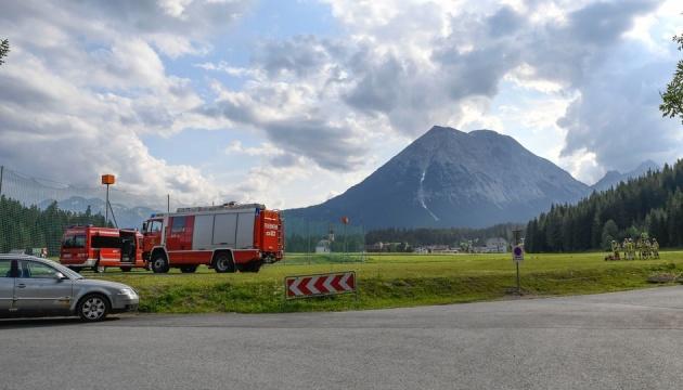 У горах Тіроля розбився літак, є загиблі