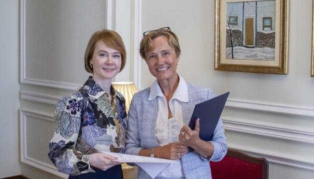 Neue deutsche Botschafterin in der Ukraine