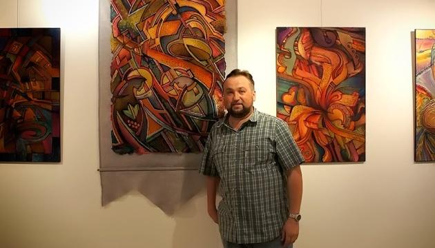 У Чикаго відбудеться виставка живопису на шовку українського художника Олега Чуйка