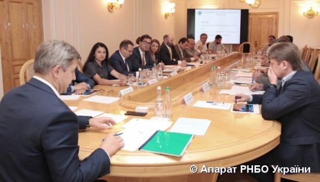 На СНБО обсудили обеспечение газом потребителей и функционирование ГТС
