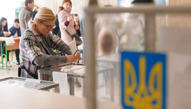 Snap parliamentary elections held in Ukraine today
