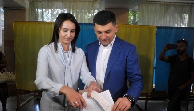 Гройсман проголосував у Вінниці