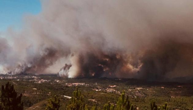 МЗС попереджає українців про небезпеку через масштабну пожежу в Португалії