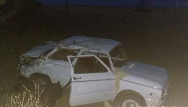 На Миколаївщині перекинувся легковик, постраждали четверо дітей
