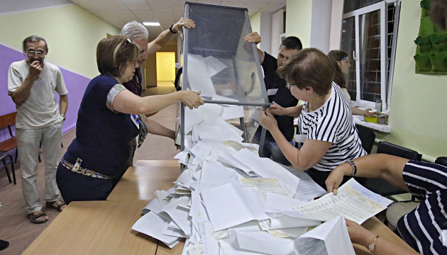 CEC counts 100 percent of vote in Ukraine's parliamentary elections