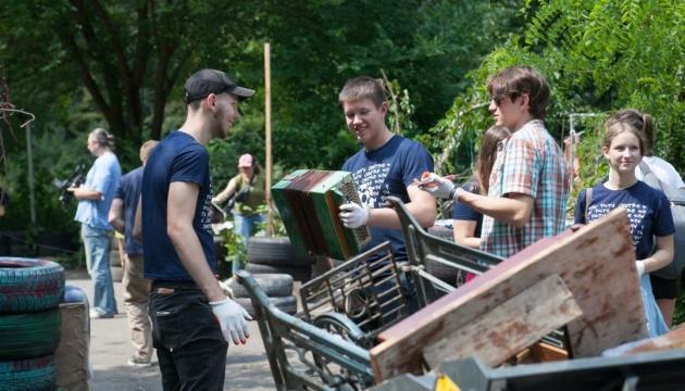 З Гідропарку вивезли понад 40 тонн сміття - КМДА