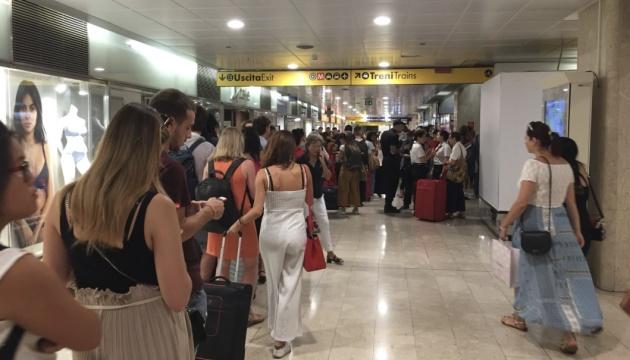 В Италии из-за пожара на железной дороге отменили междугородние поезда
