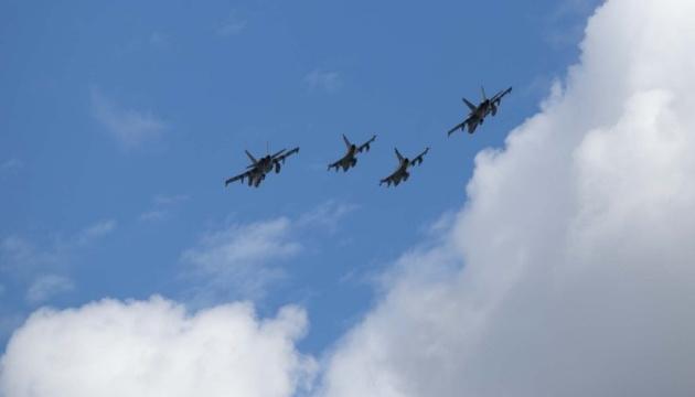 Авіапатруль НАТО чотири рази супроводжував військові літаки РФ над Балтикою