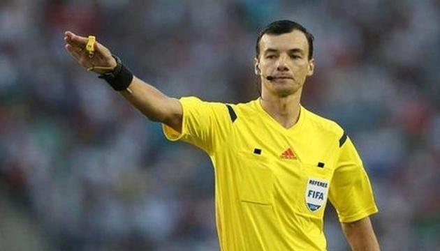 Украинские арбитры получили назначения на матч отбора Лиги Европы УЕФА