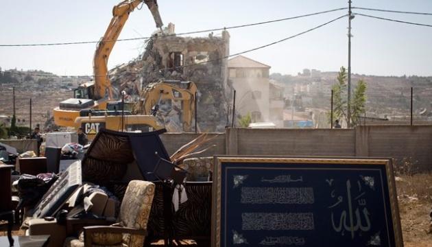 Чотири країни засудили знесення Ізраїлем палестинських будівель у Східному Єрусалимі