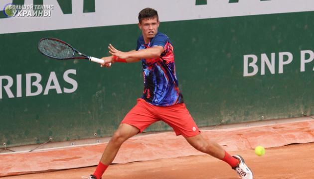 Український тенісист Ваншельбойм пройшов три кола юніорського чемпіонату Європи