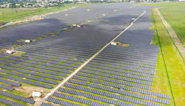 В Мелитополе запустили солнечную электростанцию мощностью 33 МВт