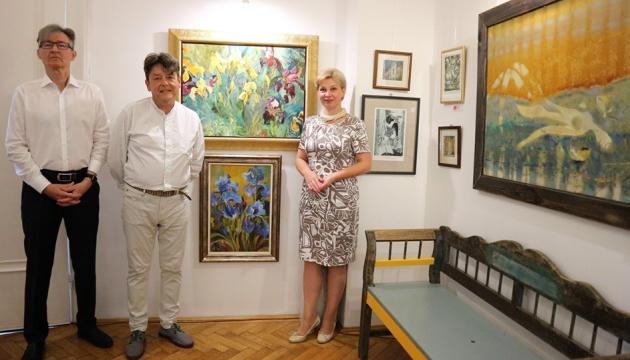 На виставці у Будапешті презентували сучасний український живопис