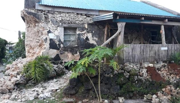 У серії землетрусів на Філіппінах загинули восьмеро людей