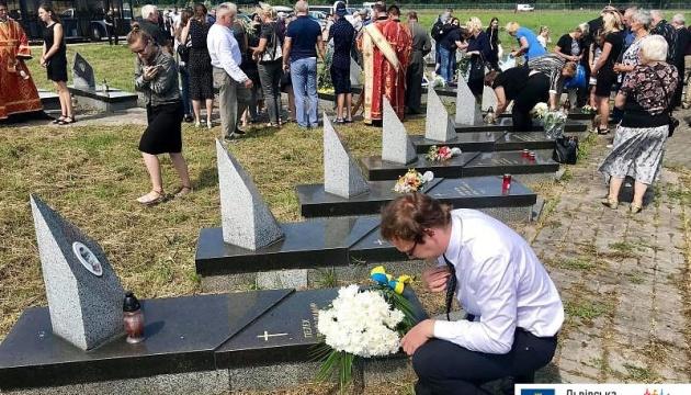 У Львові вшанували пам'ять загиблих на Скнилівському аеродромі