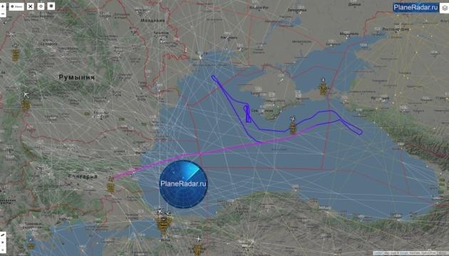 Американские самолеты провели разведку у побережья оккупированного Крыма