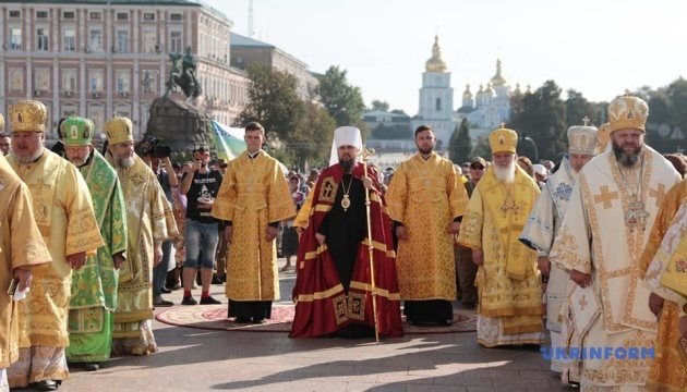 У Софії Київській — літургія до Дня хрещення Руси-України
