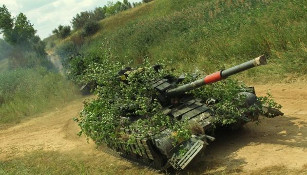 W strefie OSP odbyły się szkolenia na dużą skalę z czołgami, samolotami bojowymi i helikopterami ZDJĘCIE
