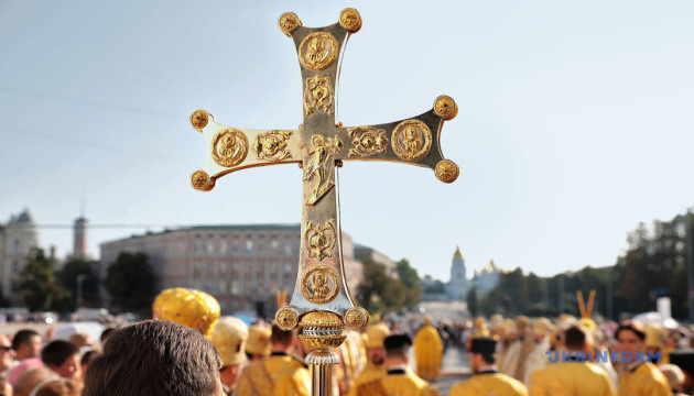 Перша Хресна хода новоствореної Православної церкви України
