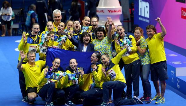 Україна виграла сім нагород на ЧС з водних видів спорту і посіла 14-е місце у медальному заліку