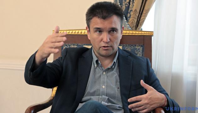 Клімкін вважає реальною проблемою «помилки» світових ЗМІ з «російським» Кримом