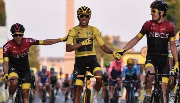 Колумбієць Берналь виграв «Тур де Франс-2019»