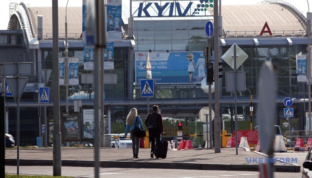 Passenger traffic at Kyiv Airport fell by 20% in January